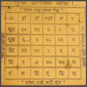 Santan-Prapti-Yantra